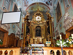Saint Anne church in Lubartów - Interior - 05.jpg