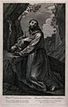 Saint Francis of Assisi. Engraving after G. Reni. Wellcome V0032054.jpg
