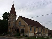 Saint Joseph's Catholic Church (Central City, Kentucky) - exterior 2.jpg