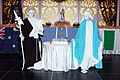 Saint Joseph, Mary Living Statues Sydney (9427330373).jpg