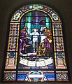 Saint Joseph Cathedral (San Diego, California) - stained glass, Christ Child Among the Doctors.jpg