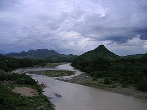 Goascorán River - Goascarán river on the Salvadoran border