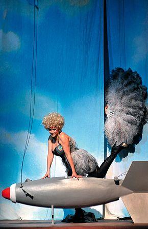 Cecilia Bartoli nel ruolo di Cleopatra, Festival di Salisburgo 2012