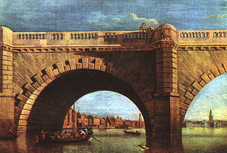 An Arch of Old Westminster Bridge