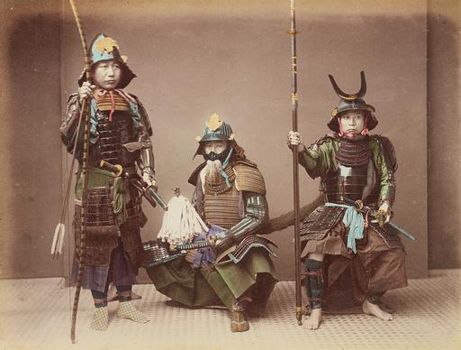 Samurai-in-Armour-by-Kusakabe-Kimbei