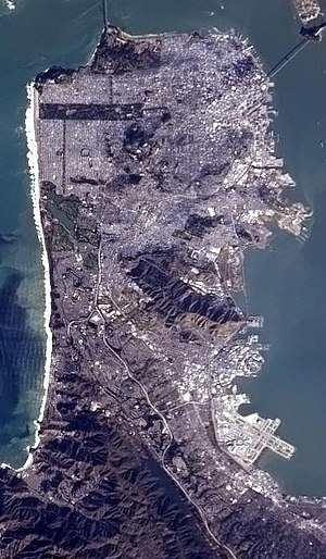 SanFranciscoFromTheISS(Cropped)