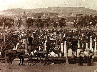 Lone Mountain (California) - Odd Fellows Cemetery, 1899