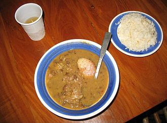 Panamanian cuisine - An example of sancocho
