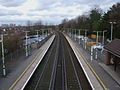 Sanderstead station high northbound.JPG