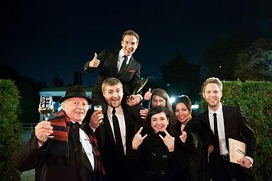 Sandra Cervik Freak-Ensemble Nestroy-Theaterpreis 2015.jpg