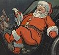 Santa Claus and list in 1904 art, Santa1904PuckCover (cropped).jpg