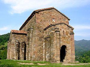 Santa Cristina de Lena - Image: Santa Cristina de Lena