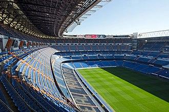1956–57 European Cup - Image: Santiago Bernabeu Stadium panoramio
