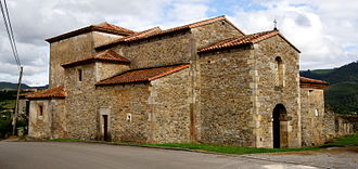 Silo of Asturias - The Church of San Juan Apóstol y Evangelista, Santianes de Pravia, founded by Silo.