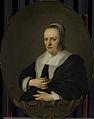 Sara de Bie. Tweede echtgenote van Jan Lutma (1638). Rijksmuseum SK-A-3517.jpeg