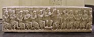 Sarcophagus Rignieux le Franc Ain end of 4th century