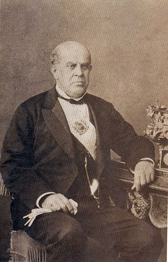 History of Argentina - President Domingo Faustino Sarmiento.