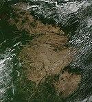 Satellite image of Guianan savanna main section.jpg