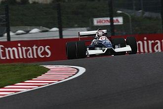 Tyrrell 019 - Kazuki Nakajima demonstrates his father's 019 at the 2018 Japanese Grand Prix.