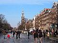 Schaatsen op de Prinsengracht in Amsterdam foto31.jpg