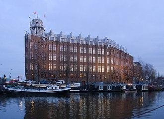 Joan van der Mey - Scheepvaarthuis, Amsterdam