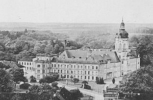 Grand Duchy of Mecklenburg-Strelitz - Neustrelitz Castle, about 1900
