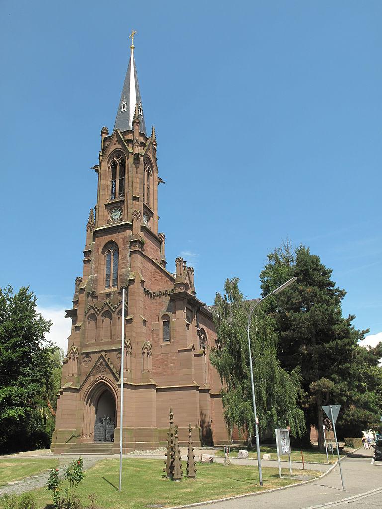 Fichierschopfheim, Die Evangelische Kirche Foto2 201307
