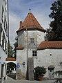 Schrobenhausen, Karpfenturm von Westen 1.jpeg