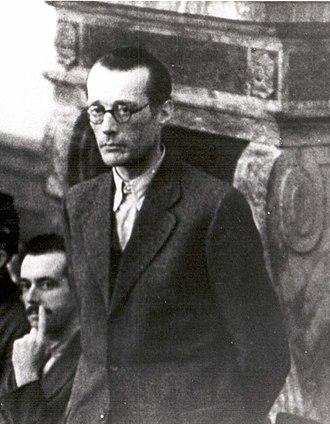 Ulrich Wilhelm Graf Schwerin von Schwanenfeld - Defendant before the Volksgerichtshof, 1944