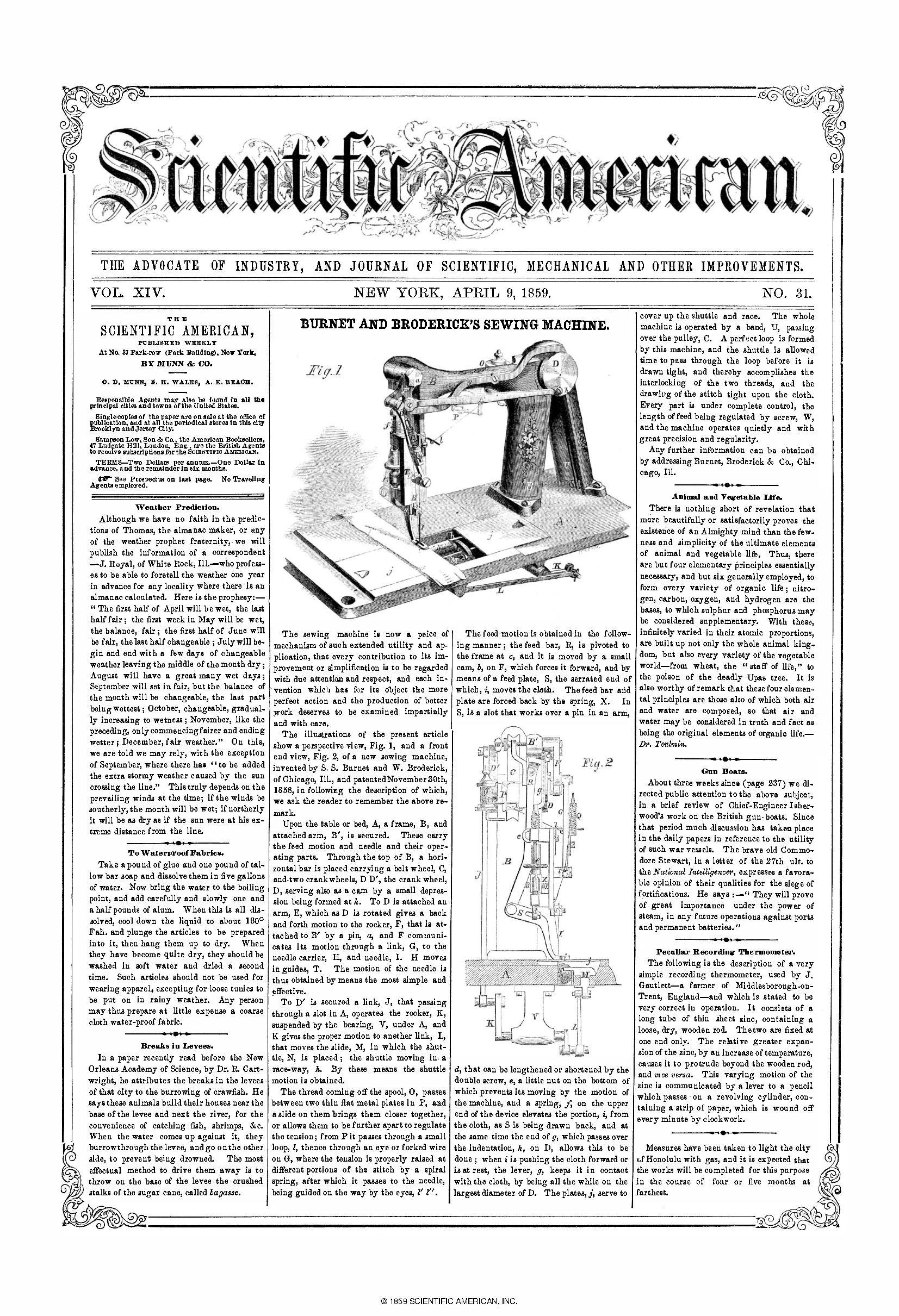 scientific american review 1 Scientific american is the authority on science and technology for a general  audience, with coverage that explains how research changes  1 - vol 309, no  6) published by: scientific american, a division of nature america, inc journal  info.