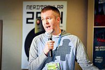 Scott Johnson at Nerdtacular 2014.jpg