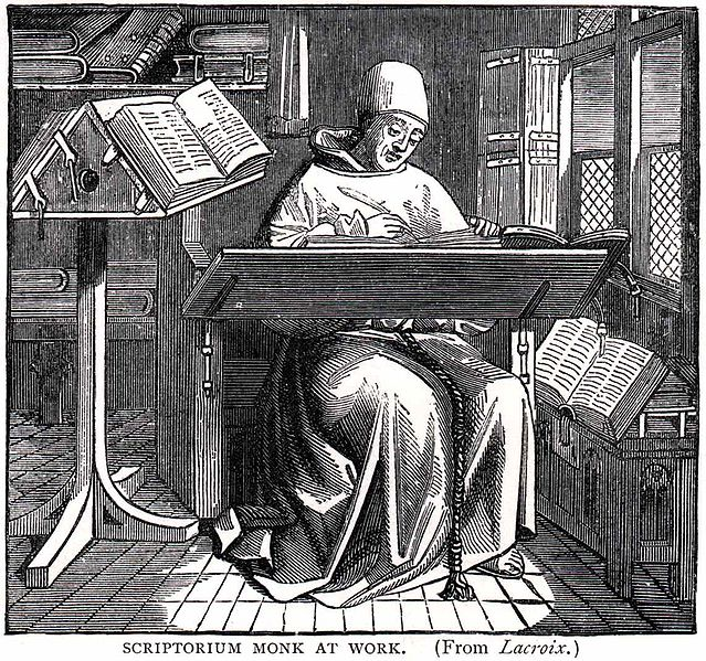File:Scriptorium-monk-at-work.jpg