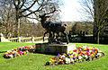 Sculpture in Lister Park near Cartwright Hall - geograph.org.uk - 388011.jpg