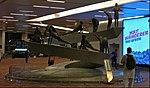 Sculpture in Terminal 3 of Indira Gandhi International Airport at Delhi depicting the Surya Namaskara asanas.jpg