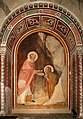 Scuola fiorentina, santa maria maddalena riceve l'ostia dal vescovo zosimo 01.jpg