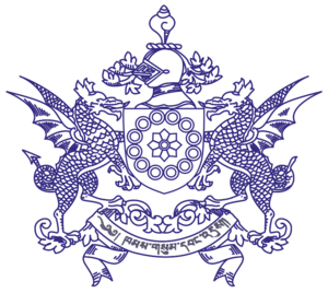 Te-ongsi Sirijunga Xin Thebe - Image: Seal of Sikkim greyscale
