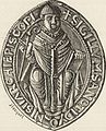 Seal of the Abbey of St. Denis, in the Twelfth Century.jpg