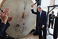 Secretary Kerry Applauded After Banging Gong at Istiqlal Mosque (12555507775).jpg