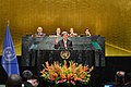 Secretary Kerry Delivers Remarks at the Event on the UN Paris Agreement Entry Into Force (29543947030).jpg