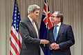Secretary Kerry Jokes With New Zealand Foreign Minister McCully Before Their Meeting (30885256315).jpg