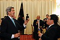 Secretary Kerry Receives a Goat Statuette to Commemorate the Year of his Birth (11403213594).jpg