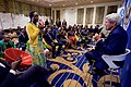 Secretary Kerry Takes a Question From a Woman as He Meets With a Group of 50 Kenyan Young African Leader Initiative Mandela Washington Fellows and of the YALI Regional Leadership Center for East Africa in Nairobi (29123650156).jpg