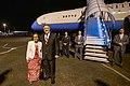 Secretary Pompeo Prepares to Depart Kolonia (48467576506).jpg