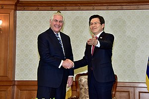 Hwang Kyo-ahn - Hwang meeting with U.S. Secretary of State Rex Tillerson on March 17, 2017