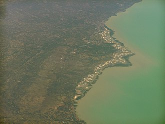 Pamekasan Regency - Aerial photo of Sendang near Pamekasan