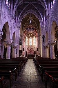 Servon-sur-Vilaine (35) Église Saint-Martin-de-Tours - Intérieur - 01.jpg