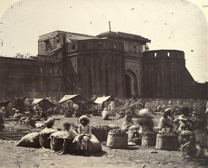 Shaniwarwada in late 1800s