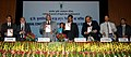 Sharad Pawar releasing a book, at the Conference of ICAR Directors and Vice Chancellors of Agricultural Universities, in New Delhi. The Minister of State for Agriculture and Food Processing Industries.jpg