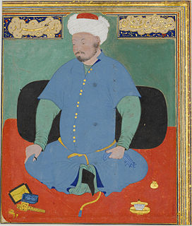 Muhammad Shaybani Khan of the Uzbeks