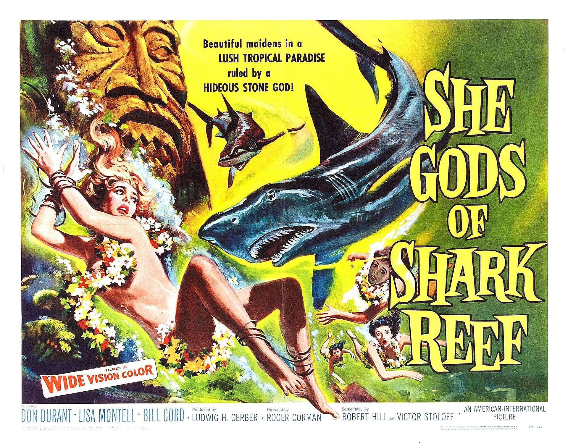she gods of shark reef wikipedia